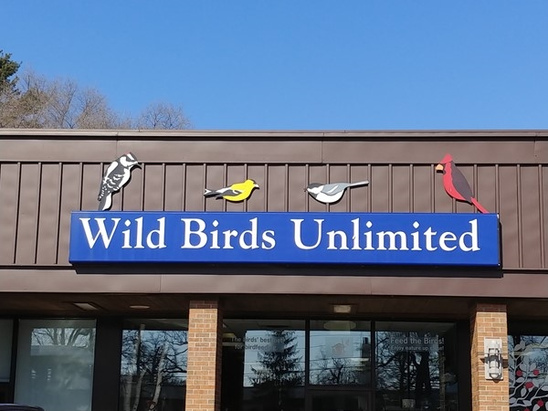 Don't forget your feathered friends at Wild Birds Unlimited