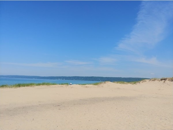 A great place for families...Petoskey State Park on Little Traverse Bay