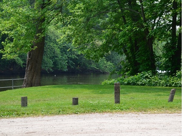 Grand River access for fishing, boating, kayaking, or canoeing.  A great place to enjoy the water
