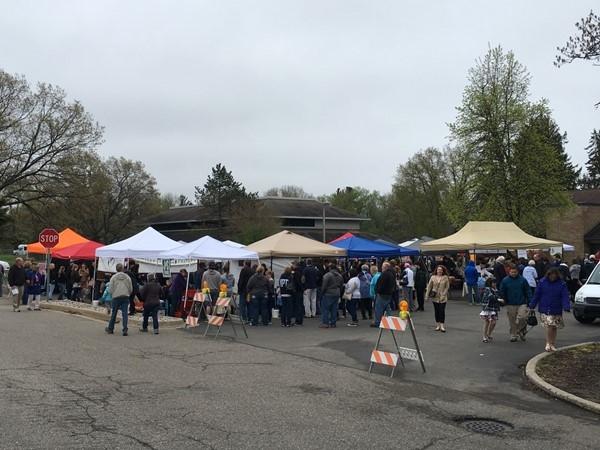 Portage Farmer's Market is every Sunday, 12:00-4:00 p.m. at the Portage Senior Center