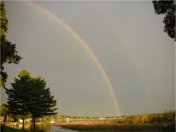 Beautiful West Lake in Portage - your pot of gold