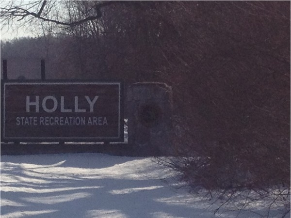 Holly State Recreation Area....so close to Fenton!