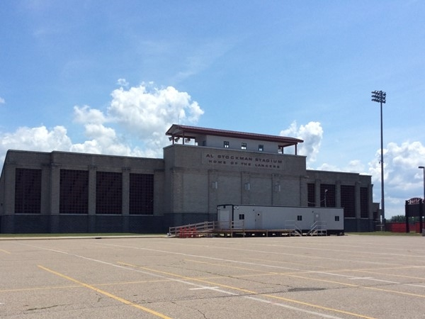 Al Stockman Stadium at Lakeshore High School - Home of the Lancers