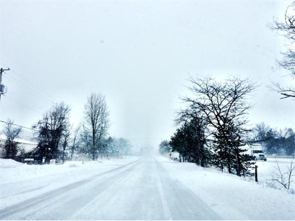 March 12, 2014 snowstorm