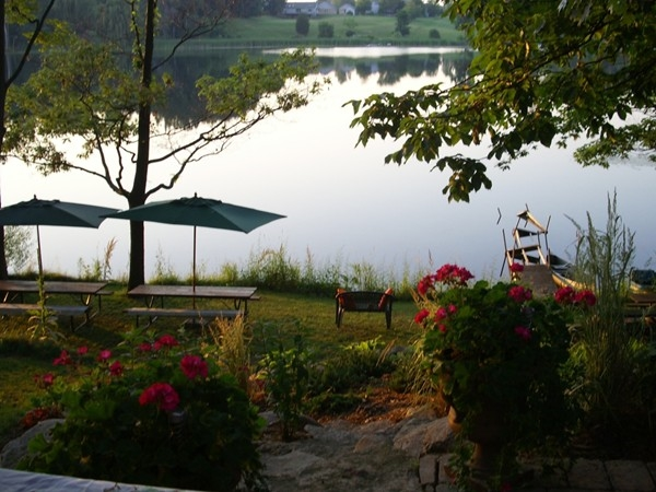 Beautiful view from home on Lake Horrell , Fenton Township