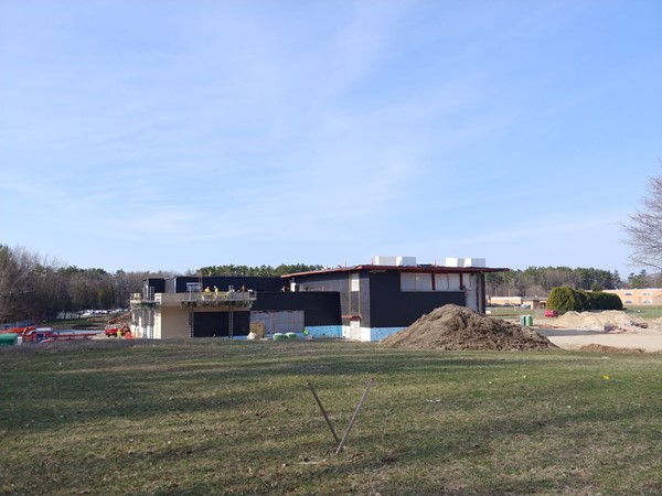 Reconstruction at Eastern Elementary is moving right along