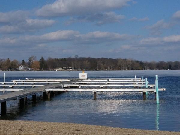 Eagle Pointe Marina has great docking facilities!