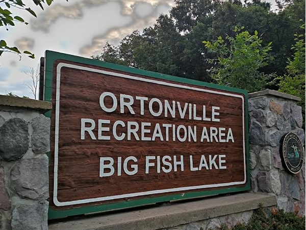 Ortonville Recreation Area. Great state park for picnics, boating, swimming, and fishing