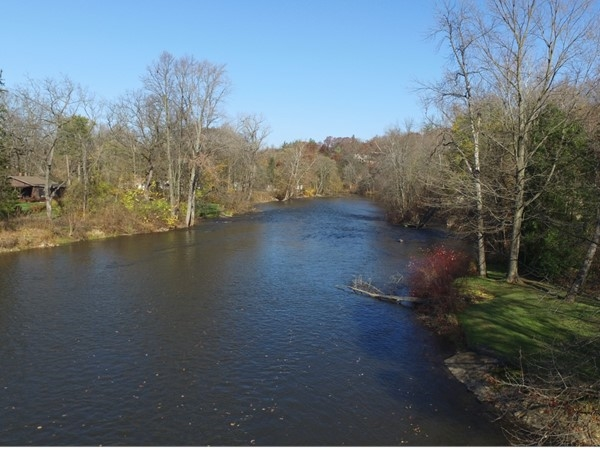 Beautiful view of Thornapple River