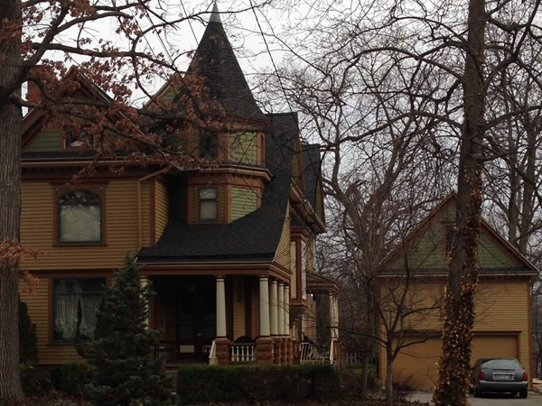 Beautiful old homes like this one are often featured in the Owosso Historic Homes Tour each fall
