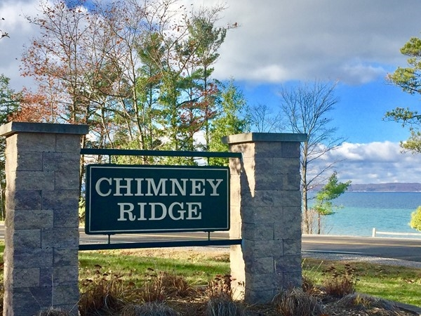 Chimney Ridge has lovely, moderate homes with shared beach on West Bay