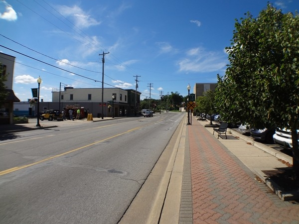 Streetview of Downtown Comstock Park