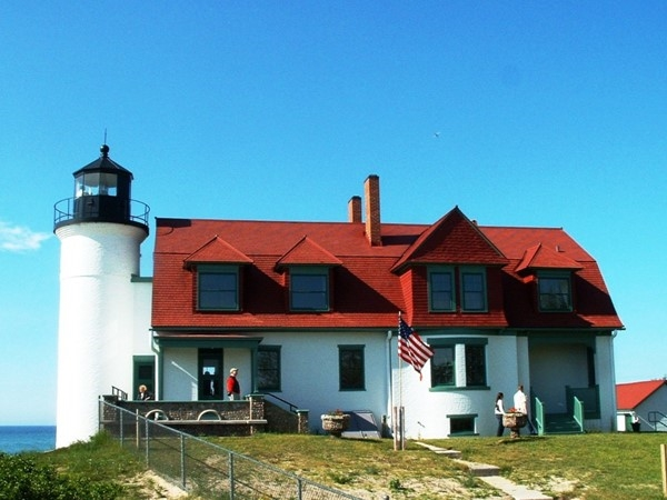 Point Betsie in the summertime