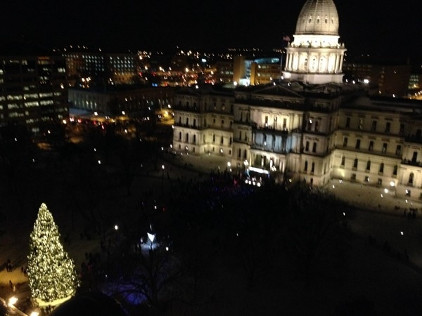 Silver Bells in The City tree lighting ceremony kicks off the holiday season in Lansing