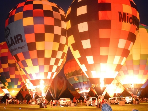 Balloon Glow at The Balloonfest in Howell is a family tradition