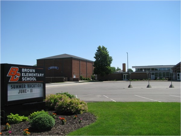 Brown Elementary School earned the National Blue Ribbon School of Excellence