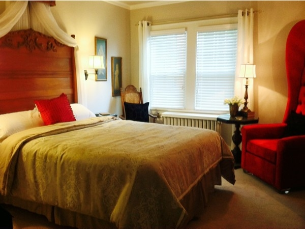 The Canterbury Tales Room at Knob Hill Bed & Breakfast