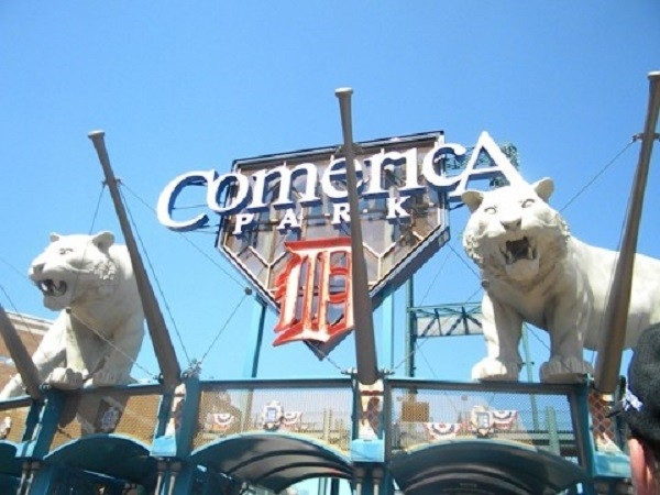 Nothing beats a Tigers game in the summer at Comerica Park