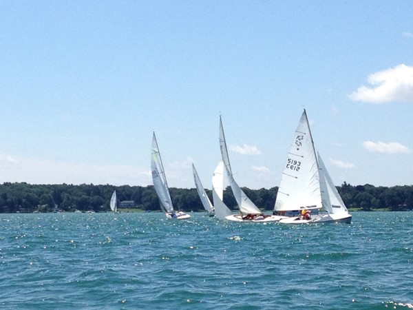 Gull Lake Yacht Club Sunday races