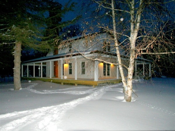 Rose Township country home