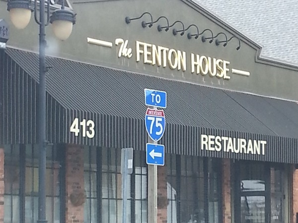 Popular date night spot, The Fenton House. The breadsticks are amazing!!!