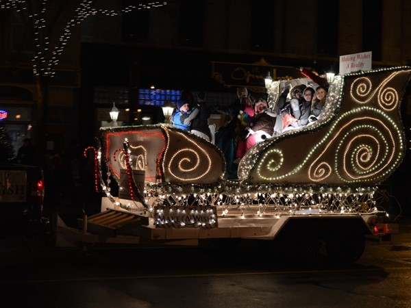 Festival of Lights Parade in Howell