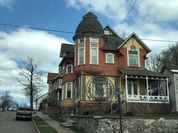 I could look at these historical houses located throughout Ishpeming all day long
