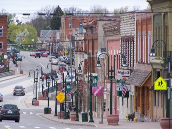 Main Street in Grand Ledge