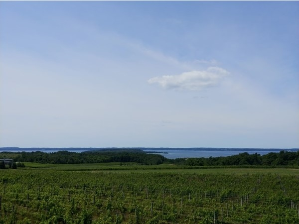 A view of West Bay from Old Mission Peninsula...always a delight