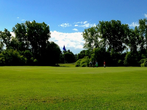 A beautiful day at Brookside Golf Course