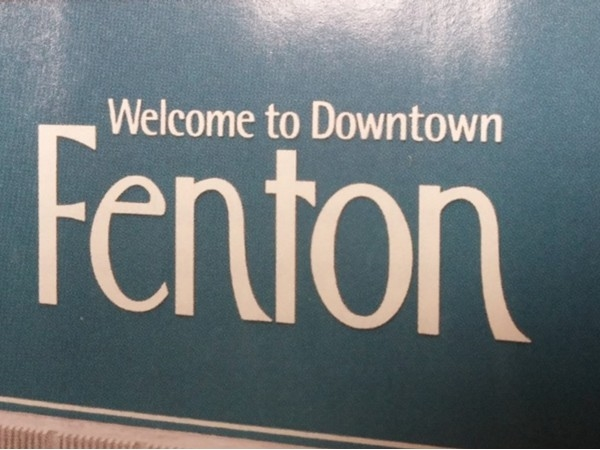 Welcome to Downtown Fenton