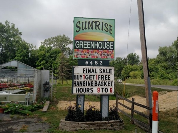 Sunrise Greenhouse is where quality grows
