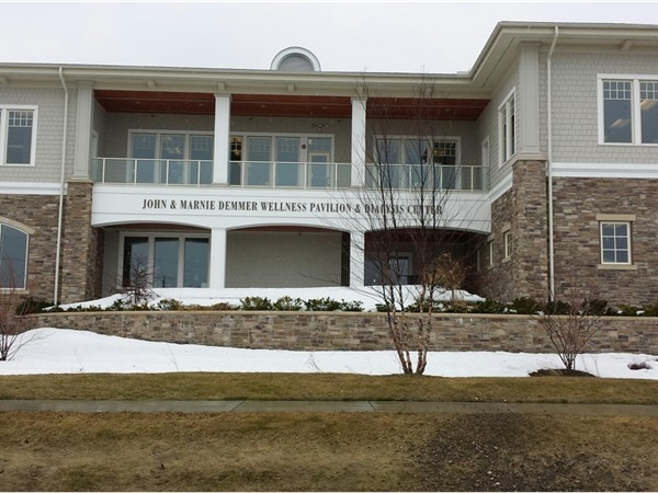 The John and Mary Demmer Medical Building - builty completely on volunteer donations