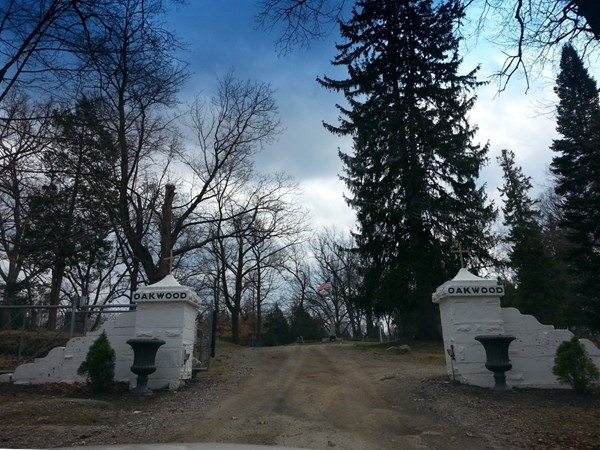 Oakwood Cemetery, a Fenton historical site. Fentons founding town members are buried here.