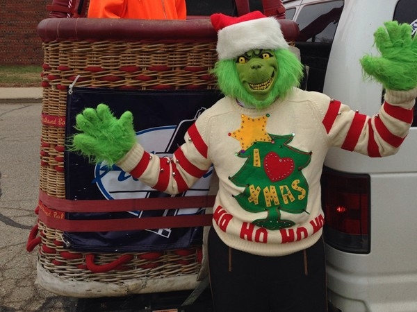 The Grinch was trying to steal Middleville's Christmas parade