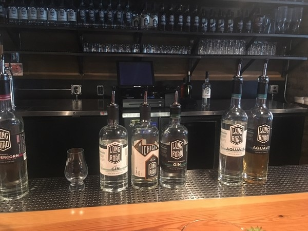 Enjoy a tour of Long Road Distillers in Downtown Grand Rapids and visit their tasting room after