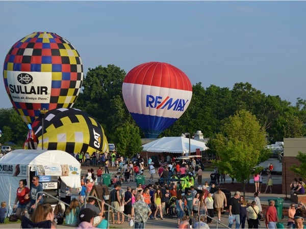 Family fun at Howell Balloonfest