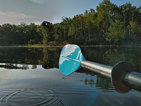 Come kayak Lake Minnewanna in the Metamora-Hadley Recreation Area