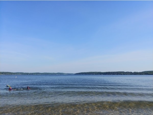 East Jordan Tourist Park Campground & Beach..a great place to play on Lake Charlevoix