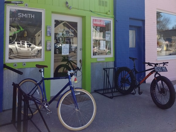 Need a new bike or maybe a rental...Suttons Bay Bikes has got the gear! Have fun
