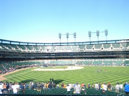 Summer nights at Comerica Park. Fun for all ages and a family tradition