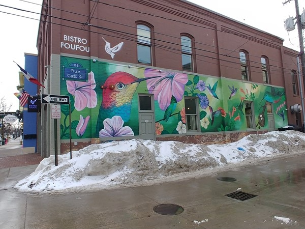Bistro Foufou... creating beautiful food and art in downtown Travesre City