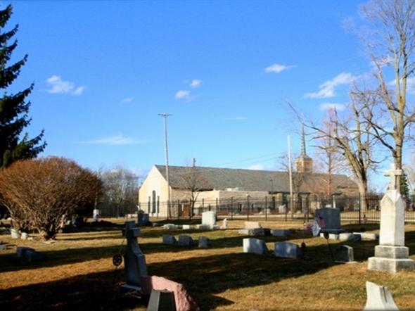 St. John the Evangelist Catholic Church and Cemetery