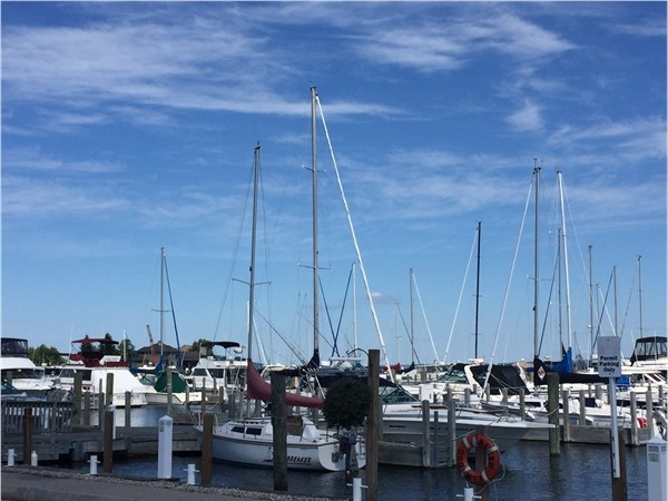 Wish we could spend time every day at the Elmwood Marina on West Bay