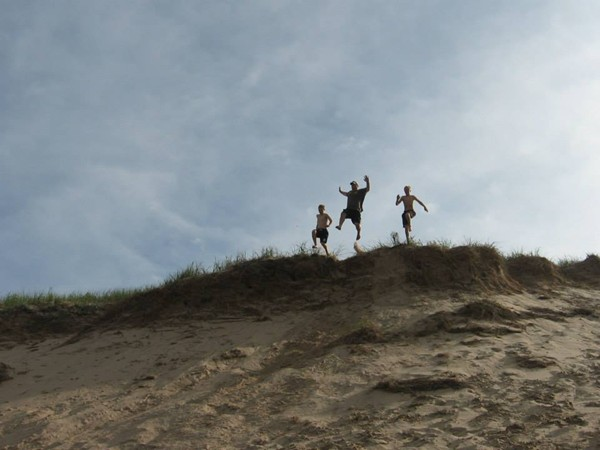 The Big Dune at Muskegon State Park. Not too many people know about the Big Dune anymore