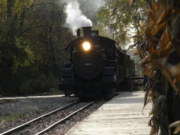 Huckleberry Railroad in the fall