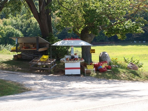 Won't be long before these roadside stands start popping up along our highways and byways