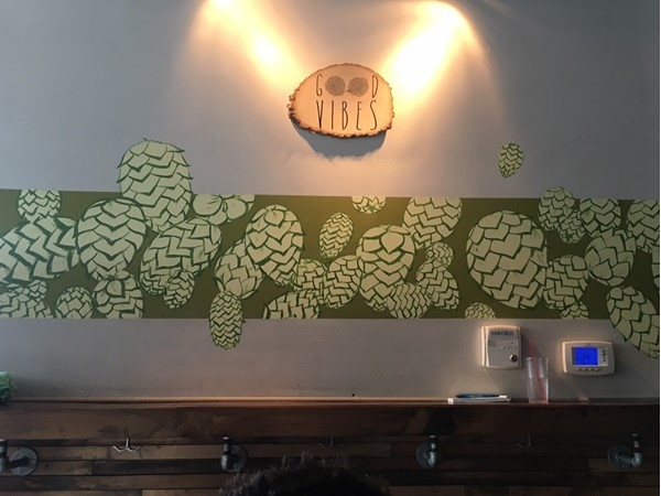 Looking for a neat place to check out in Eastown? Harmony Brewing has great drinks and food