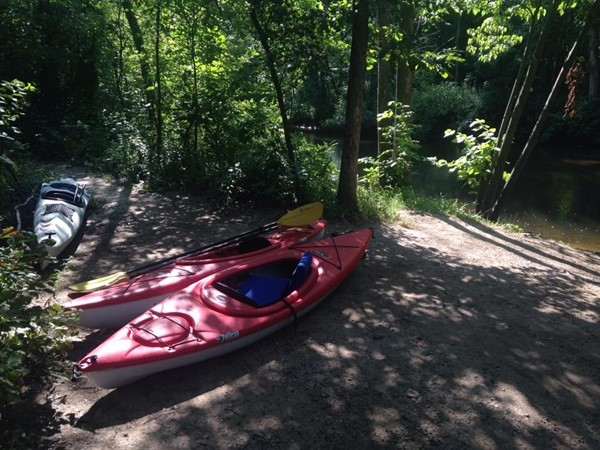 Kayaking on Upper Rouge River