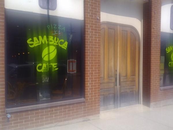 Sambuca Cafe has a great chicken sandwich